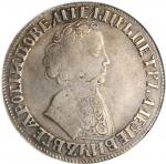 RUSSIA. Ruble, ND (1704). Kadashevsky (Moscow) Mint. Peter I (The Great). NGC VF-35.