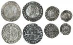 Elizabeth I (1558-1603), fourth issue, Sixpences (2), 1573, 3.04g, m.m. acorn, elizabeth d g ang fr