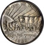1937-D Oregon Trail Memorial. MS-67+ (PCGS).