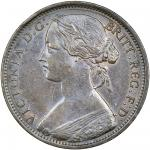 Victoria (1837-1901), Penny, 1869, laureate and draped bust left, rev. Britannia seated right (Peck