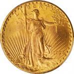 1926 Saint-Gaudens Double Eagle. Tripled Die Obverse. FS-101. MS-65 (PCGS).