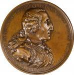 1805 Eccleston medal. Musante GW-88, Baker-85. Bronze. SP-63 BN (PCGS).