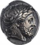MACEDON. Kingdom of Macedon. Philip II, 359-336 B.C. AR Tetradrachm (14.47 gms), Pella Mint, ca. 342