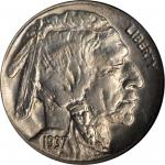 1937-D Buffalo Nickel. FS-901. 3-Legged. MS-65 (NGC).