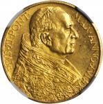ITALY. Vatican. 100 Lire, 1937 Year XVI. NGC MS-66.