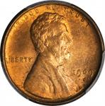 1909-S Lincoln Cent. V.D.B. MS-63 RD (PCGS).