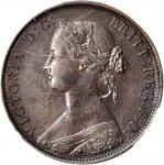 GREAT BRITAIN. 1/2 Penny, 1862. PCGS AU-55 Secure Holder.