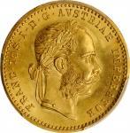 AUSTRIA. Ducat, 1901. Vienna Mint. Franz Joseph I. PCGS MS-66 Gold Shield.