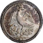 MEXICO. Silver Proclamation Medal, 1822. Augustin I Iturbide. PCGS EF-45 Gold Shield.