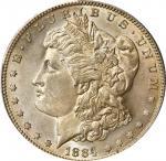 1884-S Morgan Silver Dollar. AU-58 (PCGS). CAC.