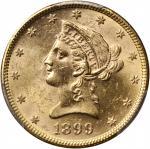 1899年10美元。