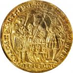 GERMANY. Cologne. 6 Ducats, ND (ca. 1620). NGC EF Details--Repaired, Countermarked.