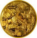 2010加拿大班夫国家公园125周年金币 NGC PF 69