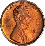 1916 Lincoln Cent. Proof-66 RB (PCGS).