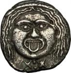 Etruscan Coins, Etruria, Populonia. AR 20-Asses, 3rd century BC. Vecchi EC I, 49.1-9 (O14), HN Italy