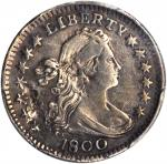 1800 Draped Bust Half Dime. LM-1. Rarity-3. VF Details--Surfaces Smoothed (PCGS).
