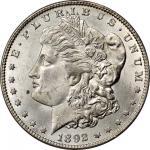1892-CC Morgan Silver Dollar. MS-62 (PCGS). CAC. OGH.