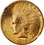1912 Indian Eagle. MS-64+ (NGC).