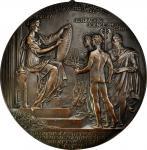 1906 Benjamin Franklin Bicentennial Medal Reverse Design. Bronze galvanic cast, uniface. 12.25