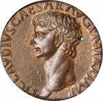 CLAUDIUS, A.D. 41-54. AE As (9.73 gms), Rome Mint, A.D. 41-42. ICG AU 55.