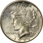 1922-S Peace Silver Dollar. MS-65 (NGC).