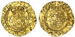 Edward VI (1547-53), Posthumous coinage in the name of Henry VIII, Halfcrown, 1.52g, mm. pellet in a