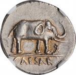公元前49年凯撒大帝时期银币 NGC Ancients Ch AU JULIUS CAESAR AR Denarius
