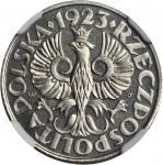 POLAND. 20 Groszy, 1923. NGC PROOF-67.