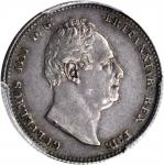 GREAT BRITAIN. Shilling, 1834. PCGS AU-53 Secure Holder.