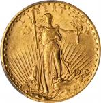 1910 Saint-Gaudens Double Eagle. MS-62 (PCGS).