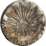 MEXICO. 4 Reales, 1846-Ga JG. Guadalajara Mint. NGC EF-45.