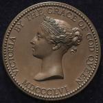 GREAT BRITAIN Victoria ヴィクトリア(1837~1901) AE Medal 1856 UNC