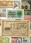 Europe, a large group of 94 notes, including Malta, 1/, Finland, 50 Markaa, 1922, 1945 and 1000 Mark