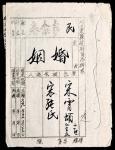 1949年(河北)阜东县政府司法科民事案卷离婚卷宗