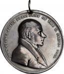 1825年约翰-昆西-亚当斯印第安和平勋章 近未流通