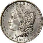 1887 Morgan Silver Dollar. MS-68 (NGC).