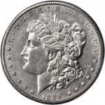 1889-CC Morgan Silver Dollar. AU-50 (PCGS).