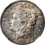 1895-O Morgan Silver Dollar. MS-62 (NGC).