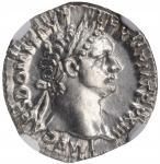 DOMITIAN, A.D. 81-96. AR Denarius (3.50 gms), Rome Mint, A.D. 93-94. NGC Ch AU, Strike: 5/5 Surface:
