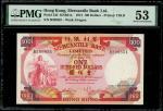 1974年有利银行100元,编号B208851,PMG 53