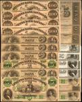 Lot of (20) New Orleans & Shreveport, Louisiana. Citizens Bank of Louisiana. About Uncirculated to U