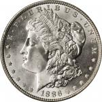1886 Morgan Silver Dollar. MS-67 (PCGS). CAC.