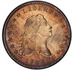 1795 Flowing Hair Half Dollar. Overton-121a. Rarity-4+. Y over Star. MS-64 (PCGS).PCGS Populat
