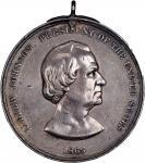 1865 Andrew Johnson Indian Peace Medal. Second Size. Julian IP-41, Prucha-52, Musante GW-771, Baker-