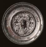 民国 神兽钮葡萄花卉手镜