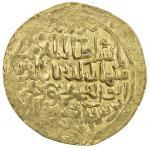 GHORID: Mahmud b. Muhammad, 1206-1212, AV broad dinar (4.25g) (Dawar), AH602, A-1783.2, rule cited a