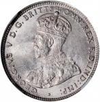AUSTRALIA. Shilling, 1927. Melbourne Mint. NGC MS-63.