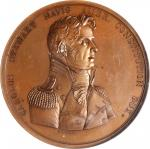 1815 Captain Charles Stewart / USS Constitution vs. HMS Levant and Cyane Naval Medal. Original Dies.