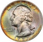 1953-S Washington Quarter. MS-67+ (PCGS). CAC.