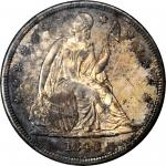 1840 Liberty Seated Silver Dollar. MS-62 (NGC).